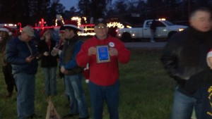 Christmas Parade First Place 2013